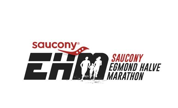 Saucony Egmond halve marathon 14 jan.2018